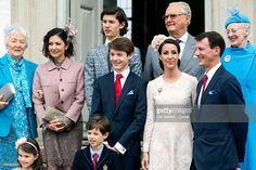 Queen Margrethe of Denmark and Prince consort Henrik during their grandson Prince Felix confirmation at Fredensborg Palace church on April. Denmark Royal Family, Danish Royal Family, Princess Alexandra, Crown Princess Mary, Prince Felix Of Denmark, Romanov Sisters, Danish Royalty, Royal Fashion, Beautiful Boys