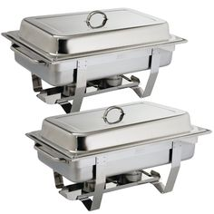 Olympia Milan Chafing Dish Twin Pack