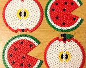 Apple & Watermelon Coaste...