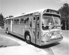 St Louis Buses - #20 Cherokee - I remember riding the bus with my Grandma in the 1960 down Cherokee Ave. I probably rode this exact bus! - Public Transportation - BiState Bi-State - St Louis Vintage Photographs (photo pic Saint Louis MO Missouri history historic)