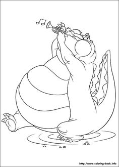 coloring page Princess and the Frog  drawings  Pinterest  Frogs