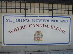 Newfoundland where Canada begins I Am Canadian, Canadian History, Newfoundland Canada, Newfoundland And Labrador, Meanwhile In Canada, Atlantic Canada, Canada Eh, True North, New Brunswick