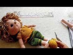 Teddy Bear, Dolls, Knitting, Animals, Youtube, Handmade, Crochet Dolls, Toddler Girls, Dresses For Babies