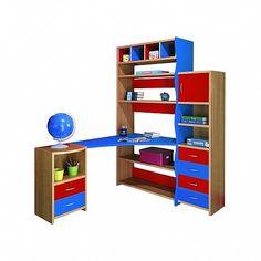 Image result for παιδικες βιβλιοθηκες με γραφειο