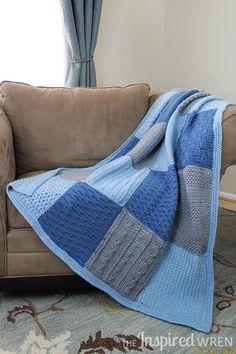 Crochet Along Afghan Sampler