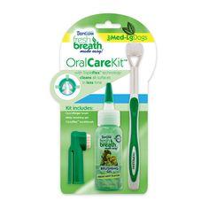 Oral Care Kit til medium og store hunder