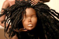 Quick Tutorial: making dreadlocks for dolls