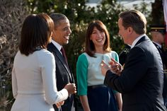 Behind the scenes of the lavish White House welcome for David and Samantha - Photo 10