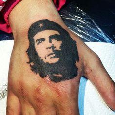 Che Guevara tattoo handtattoo