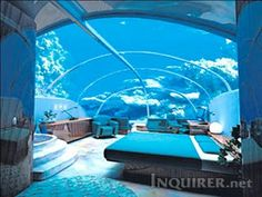 Underwater Hotel in Calamianes Islands, Palawan in the Philippines