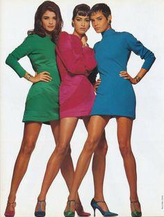 Helena, Yasmeen and Nadege by Walter Chin, 1991 www.fashion.net