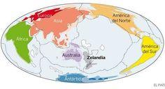 Hallado Zelandia un enorme continente sumergido en el Pacífico
