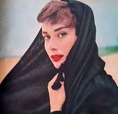 Audrey Hepburn in the lens of Milton Green 1953