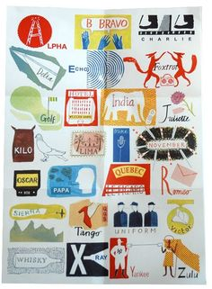 International Phonetic Alphabet by Laura Knight by nichole