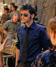 """Because some days you look around and say, """"I am in the mood to look at David Tennant..."""""""