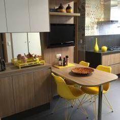 Cozinha charmosa: Cozinhas modernas por  Adriana Fiali e Rose Corsini - FICODesign