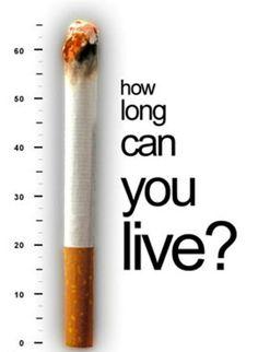 Cuánto quieres vivir?... fumar mata / How long can you live?