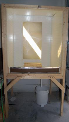 PROCESS - the $60 washout booth