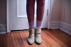 Shine Trim: DIY: Marchesa Tulle Socks