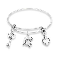 Michigan State Spartans Silver Tone Bangle Bracelet, Hear... https://www.amazon.com/dp/B01MUDJF29/ref=cm_sw_r_pi_dp_x_CpnJyb30C3VJX