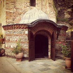 Entrance of Monastery, Mount Athos