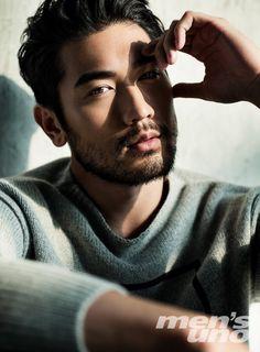 wandॐring εyε — godfreygaodailys: Photoset #1: Godfrey Gao... Handsome Asian Men, Sexy Asian Men, Sexy Men, Handsome Man, Asian Male Model, Male Models, Godfrey Gao, The Villain, Bearded Men
