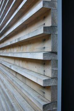 alternating wood siding