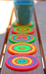 Paecy i Pato Blog : NEON Coasters