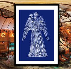 Doctor Who Weeping Angel Patent, Dr. Who Weeping Angel Poster, Weeping Angel Blueprint,  Dalek Print, Doctor Who Wall Art, Doctor Who Decor by STANLEYprintHOUSE  3.00 USD  We use only top quality archival inks and heavyweight matte fine art papers and high end printers to produce a stunning quality print that's made to last.  Any of these posters will make a great affordable gift, or tie any room together.  Please choose between different sizes and col ..  https://www.etsy.com/ca/l..