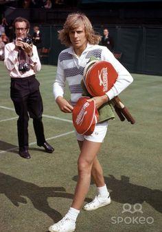 Bjorn Borg at Wimbledon ~ June 1974