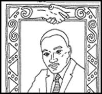 Martin Luther King Jr Coloring Pages Kindergarten | Coloring Pages ...