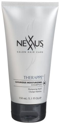Nexxus Therappe Luxurious Moisturizing Shampoo, 5.1-Ounce Tubes (Pack of 4) by Nexxus. $19.42. Salon-healthy hair at home. Nexxus salon formula. Used by professionals. NexxuSphere Technology time released nutrients. Therappe Luxury Moisturizing Shampoo: Restores and maintains vital moisture needed for hair to be naturally soft, pliable and glowingly alive. Time released Lipids, nourishing Botanicals, rich Emollients and. Save 12% Off!