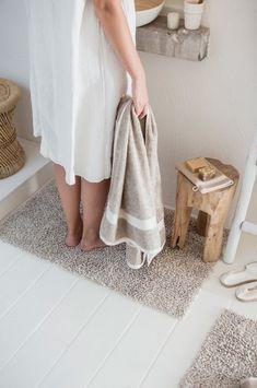 Vitalisierende Leinenfrottiertücher mit Baumwolle Detail Bath Mat, Wellness, Rugs, Home Decor, Oysters, Laundry Detergent, Natural Colors, Linen Fabric, Cotton