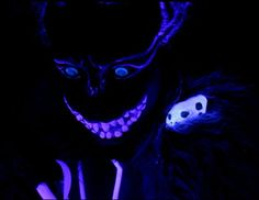 Cheshire Cat UV costume / blacklight / glow in the dark by Köstümdesign Maike Buschhüter