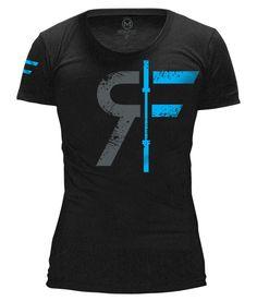 CrossFit Apparel and Gear - WOD Outlet - RokFit - Women's Logo T - Black, $26.00 (http://www.wodoutlet.com/rokfit-womens-logo-t-black/)