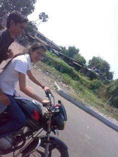 """india girls on bike welcomes-Women empowerment-Save A Girl Child-""""Beti Bachao-Beti Padhao"""" : biker girls 6"""