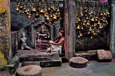 Man With Many Bells    INDIA-10763 Steve Mccurry