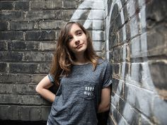 Fourteen-year-old activist Hannah Alper is only Canadian and the youngest person on the Bloomberg's Ones to Watch in 2018 list. Toronto Girls, Kids Around The World, Social Media Engagement, 14 Year Old, T Shirts For Women, Canada, Mens Tops, Mood, Watch