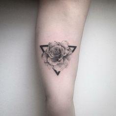 rosa geométrica // farfalla ink