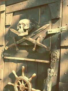 Door to Capt. Morgans Tavern