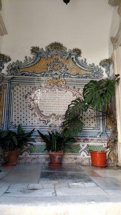 Azulejos portugueses em Coimbra