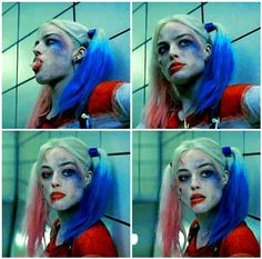 Suicide Squad Harley Quinn Cosplay Costume and Accessories