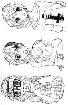 Hipster, Punk and Pastel Goth by KiraMari.deviantart.com on @deviantART