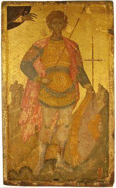 AGGELOS AKOTANTOS ST FANOURIOS Saints And Soldiers, Gabriel, Russian Icons, Byzantine Art, Religious Icons, Orthodox Icons, Roman Catholic, Religion, Images