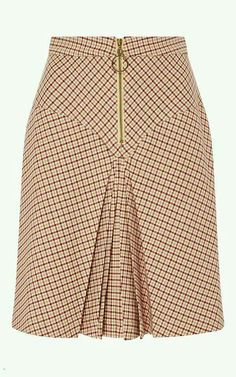 Bordeaux Pleated Checked Yoke Skirt by MANOUSH for Preorder on Moda Operandi Source by African Print Skirt, African Dress, Latest African Fashion Dresses, African Print Fashion, Skirt Outfits, Dress Skirt, Classy Dress, Pattern Fashion, Fashion Outfits
