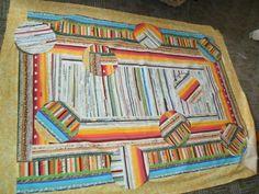 Interaktivní deka skádání, zapínání knoflíků, vlastní kreslení z rubové strany