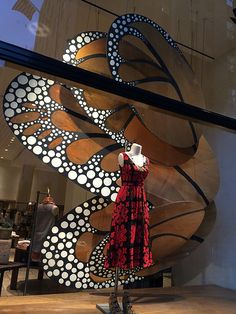 "Anthropologie Rockefeller Center, NY, ""spread your wings and fly away"", pinned by Ton van der Veer"