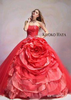 off shoulder rose pink ball gown