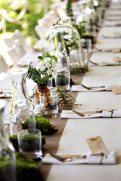 Editors' Picks: 20 Lovely Table Setting Wedding Ideas that Inspire - MODwedding