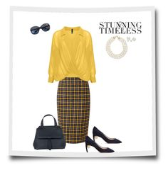"""""""Timesless Style💋"""" by michelledevon on Polyvore featuring Pure Collection, Chanel, Manon Baptiste, Allurez, Nicholas Kirkwood, Abro and MANGO"""
